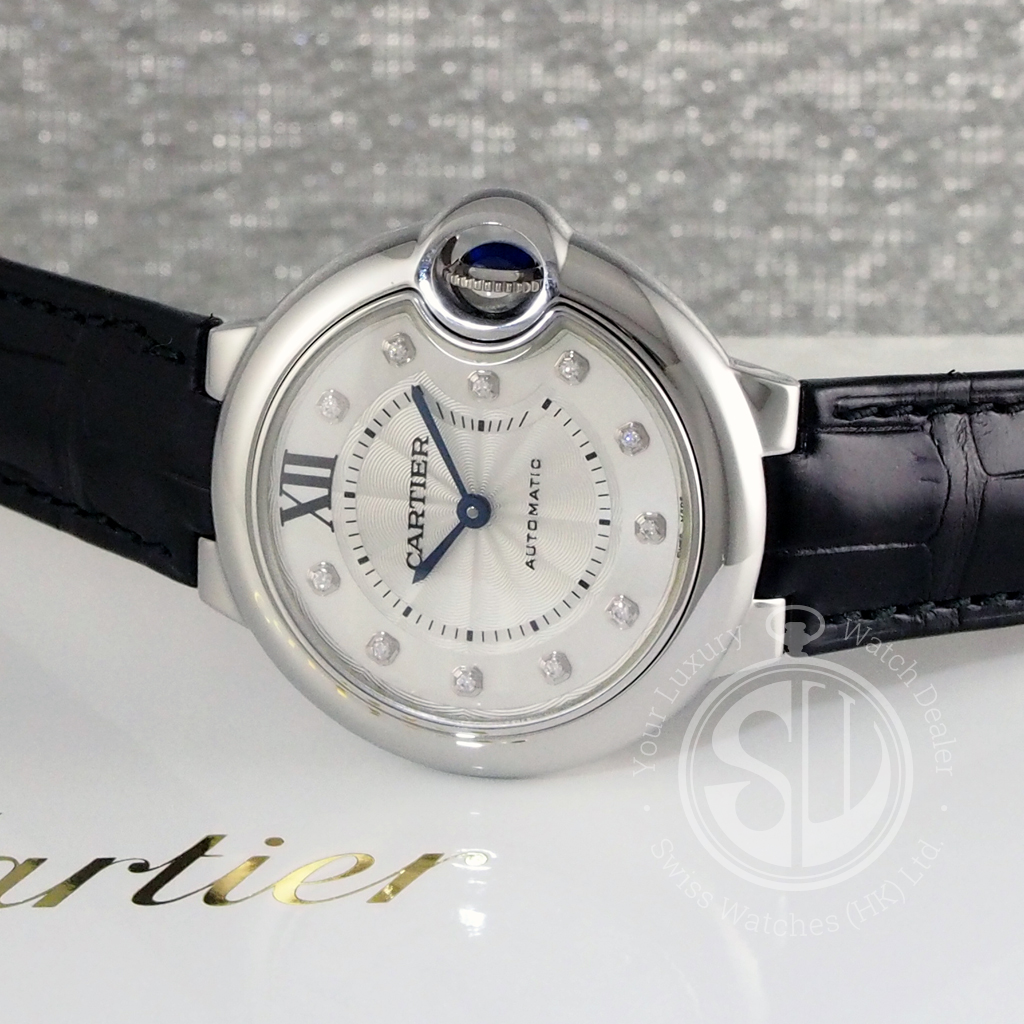 aee9ed47af6 Cartier W4BB0009 Ballon Bleu De Cartier 33mm
