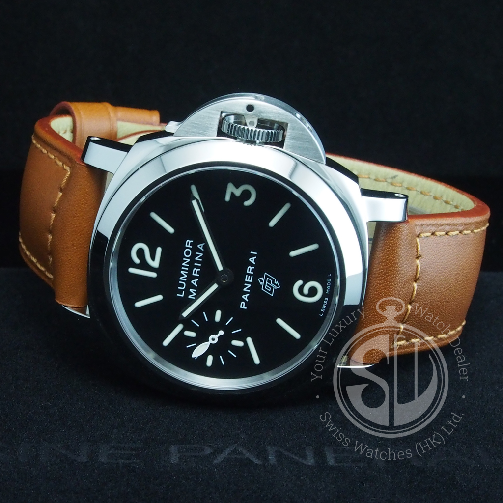 Panerai Pam005 Luminor Marina Logo Acciaio Swiss Watches