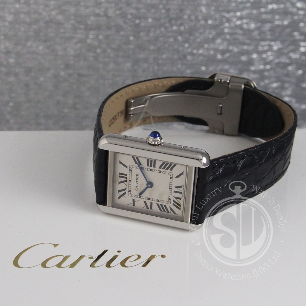 2c59ed5b74d Cartier W5200005 Tank Solo Small Model - Swiss Watches (HK) Ltd