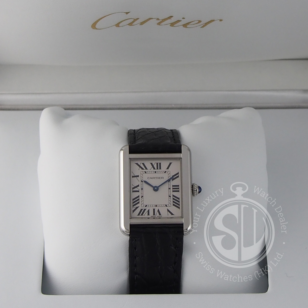 9df643d0d8a ... Cartier W5200005 Tank Solo Small Model. w5200005-01 · w5200005-02  w5200005-03
